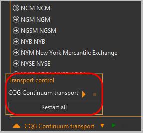 Transport сontrol