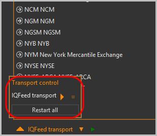 Transport control